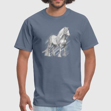 Cold-blooded horse - Men's T-Shirt