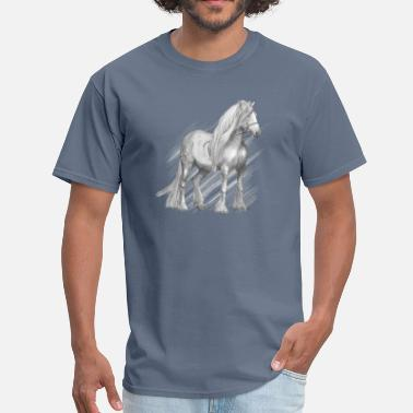 Cold Blood Cold-blooded horse - Men's T-Shirt