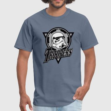 Funny and cool Star Wars Stormtrooper parody - Men's T-Shirt