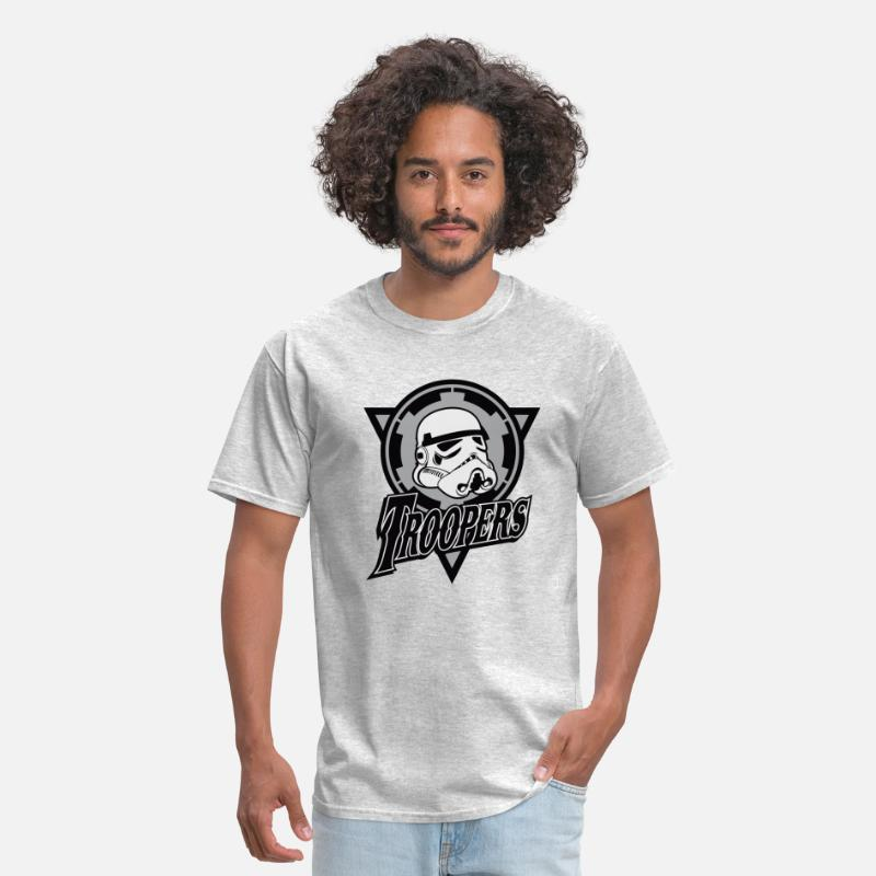 9b1d3d09 Funny and cool Star Wars Stormtrooper parody Men's T-Shirt | Spreadshirt