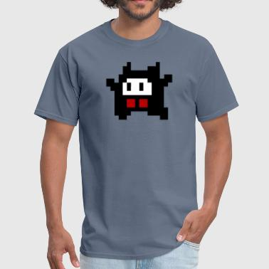 Cute 8 bit indie monster - Men's T-Shirt