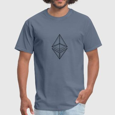 Ethereum Cryptocurrency Logo Cool Money Amazing - Men's T-Shirt