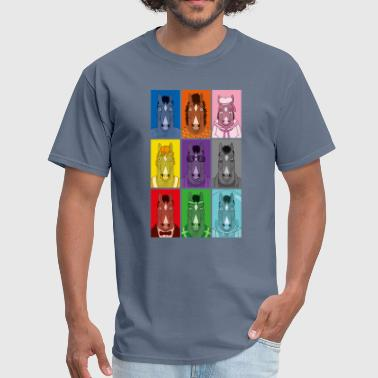 Bojack Horseman Colors - Men's T-Shirt