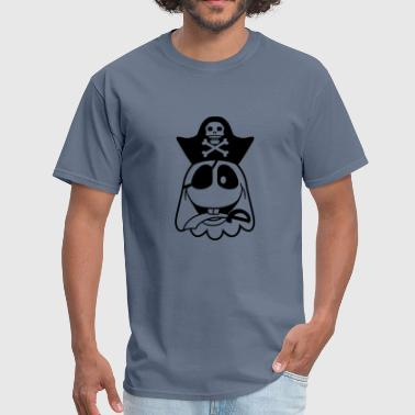 pirate captain saber pirate seas ship ship evil - Men's T-Shirt