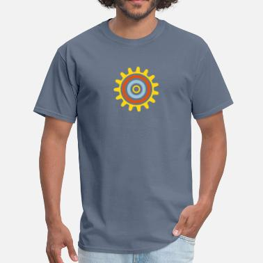 Figure Machine Gear cogwheel - Men's T-Shirt