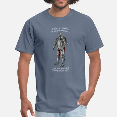 Armoured Codpiece Knight - Men's T-Shirt