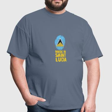 Made In Saint Lucia / St. Lucia - Men's T-Shirt
