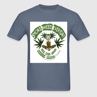 Weed / Cannabis / 420 + Anime lover Gear - Men's T-Shirt