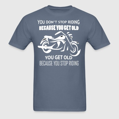 Funny Motorcycle T-Shirts - Men's T-Shirt