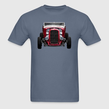 Red Hot Rod front - Men's T-Shirt