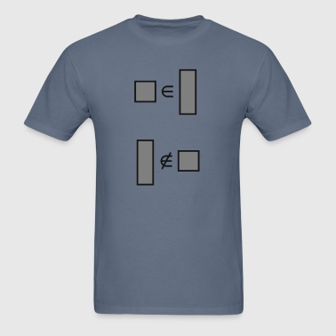 squares are rectangles - Men's T-Shirt