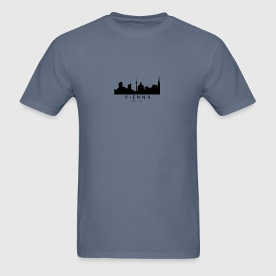 Vienna Austria Skyline - Men's T-Shirt