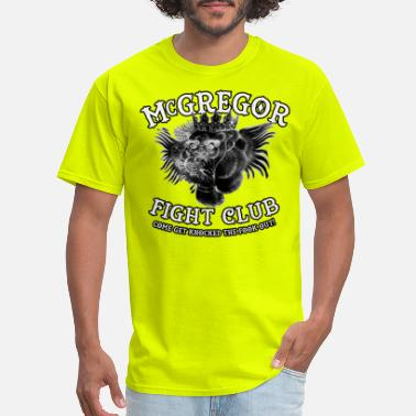 Boxing mcgregor fightclub - Men's T-Shirt