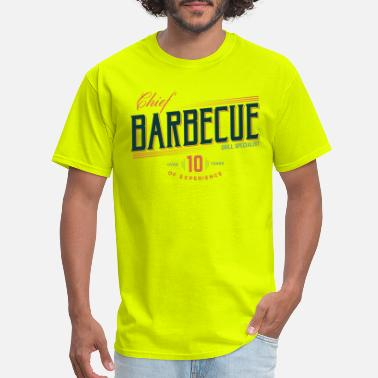 Bbq Chief barbecue - Men's T-Shirt
