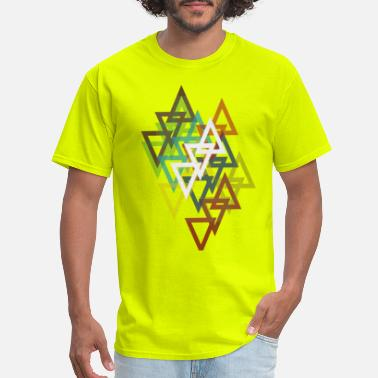 Triangle Stack - Men's T-Shirt