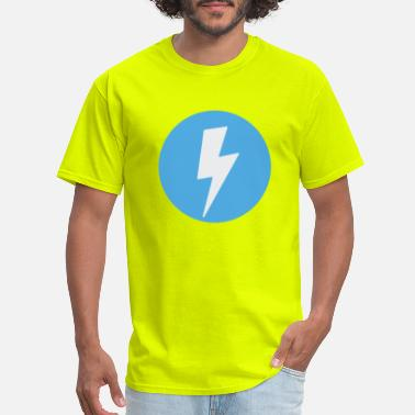 Blue Lightning Lightning Dot - Men's T-Shirt