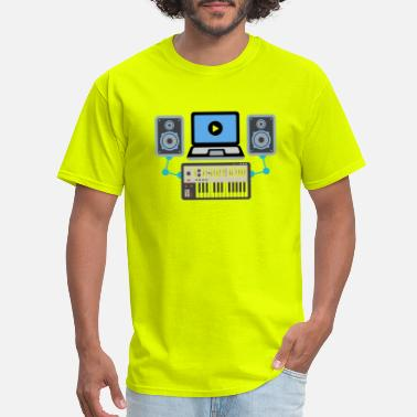 Music Producer Music Producer Dj Shirt - Men's T-Shirt