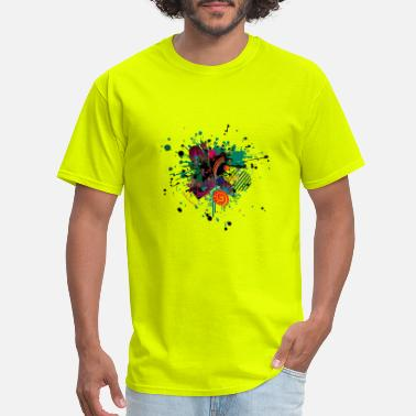 Abstract Art Carnival abstract art design - Men's T-Shirt