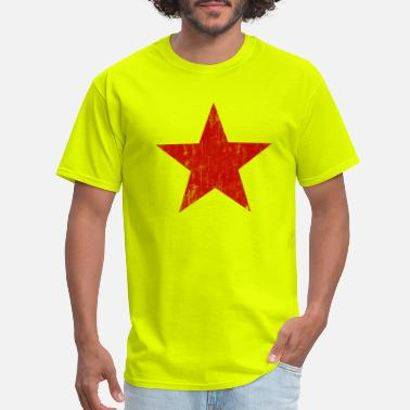 Star Red Star faded - Men's T-Shirt