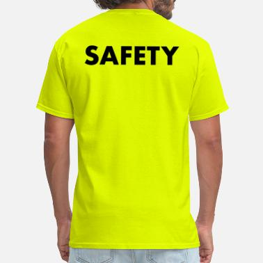 Safety Vest SAFETY - Men's T-Shirt