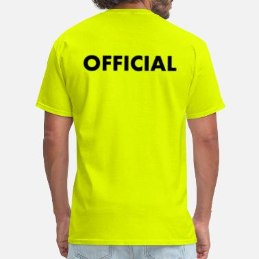 Official Person OFFICIAL - Men's T-Shirt