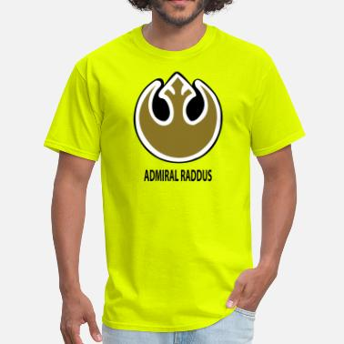 Admiral Raddus Raddus Rebellion Badge - Men's T-Shirt