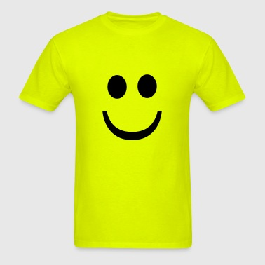 Happy Smiley - Men's T-Shirt