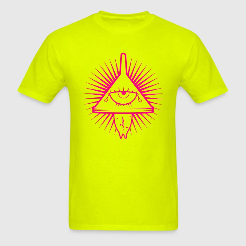 Illuminati Insane Logo - Men's T-Shirt