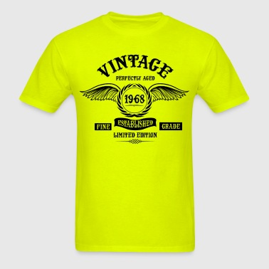 Vintage Perfectly Aged 1968 - Men's T-Shirt