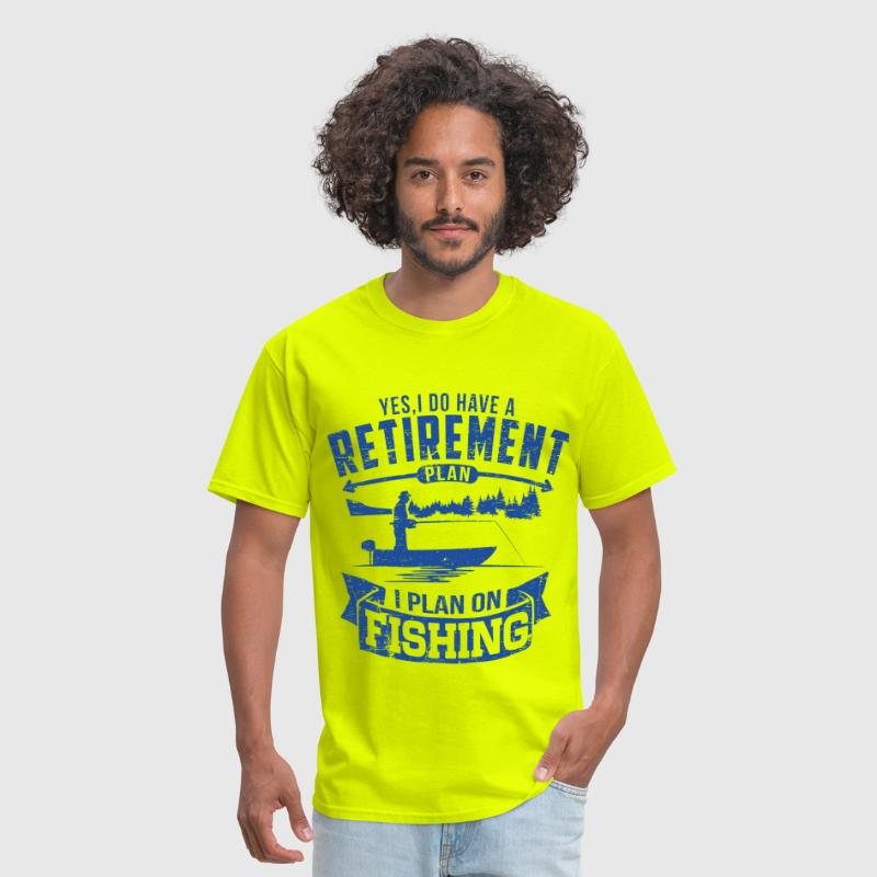 Fishing Retirement - Men's T-Shirt
