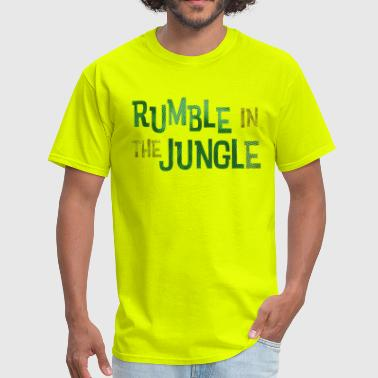 rumble in the jungle - Men's T-Shirt