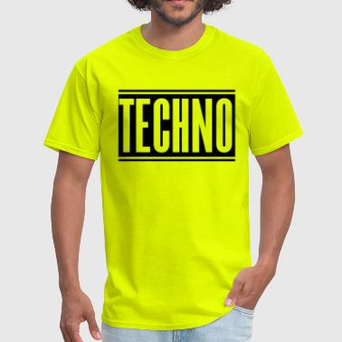 Neon Techno Techno - Men's T-Shirt