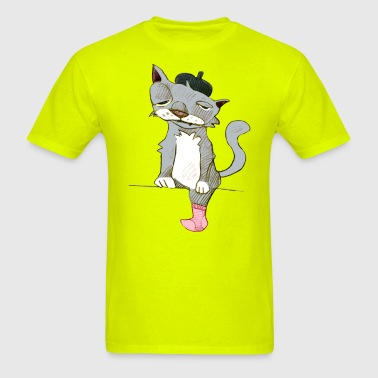 monsieur chat - Men's T-Shirt