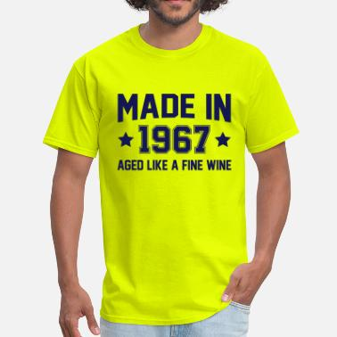 1967 Wine Made In 1967 Aged Like A Fine Wine - Men's T-Shirt