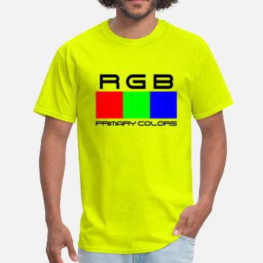 Primary Colors RGB. Primary Colors - Men's T-Shirt