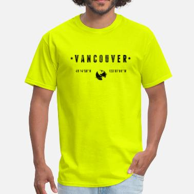 Canada-geography Vancouver - Men's T-Shirt
