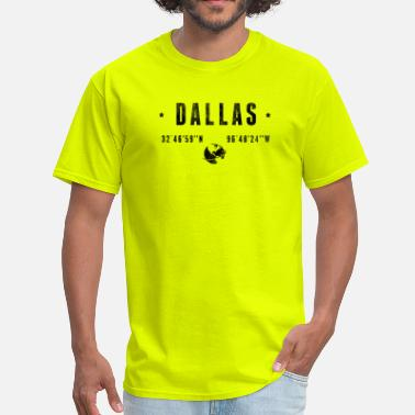 Vintage Dallas DALLAS - Men's T-Shirt