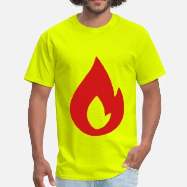Flamed Flame - Men's T-Shirt