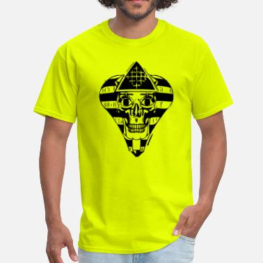 Illuminated Enlightenment SMILING PHARAOH 1 - Men's T-Shirt