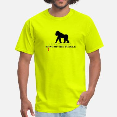 Jungle Ape Kong of the Jungle - Men's T-Shirt