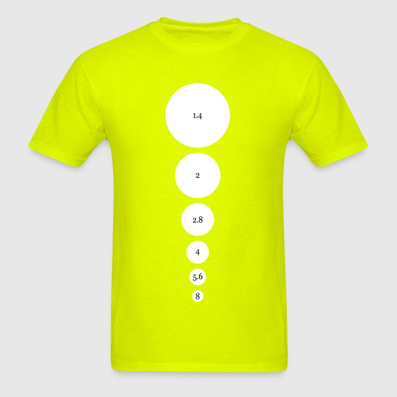 Aperture Diagram T Shirt Spreadshirt