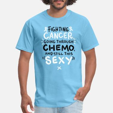 Chemo Chemo Battle Cancer Suck Cancer Fighting Therapy - Men's T-Shirt