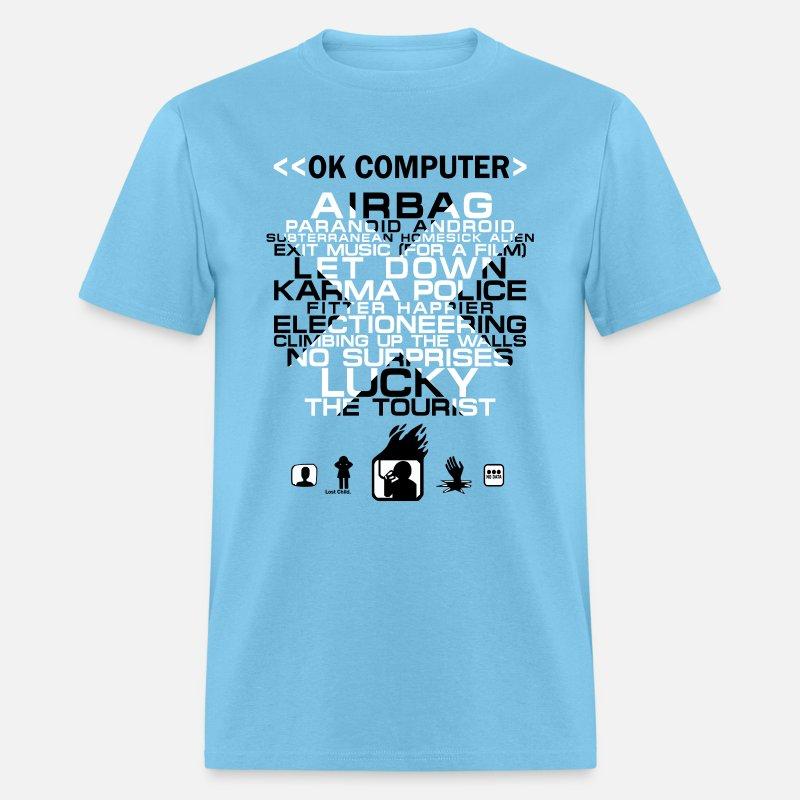 e1c5f53a Radiohead OK Computer Men's T-Shirt | Spreadshirt