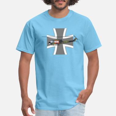 Helicopter UH-1 German Air Force Search and Rescue - Men's T-Shirt
