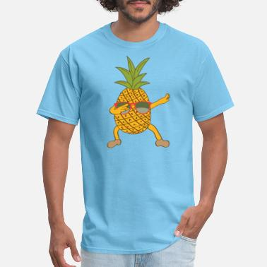 Pineapple Aloha Pineapple Tee - Men's T-Shirt