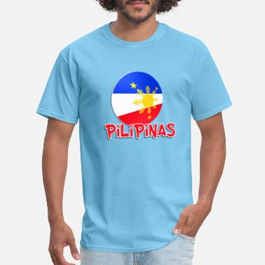 Philippine Quotes Blue White Red More Fun Philippines 4 - Men's T-Shirt