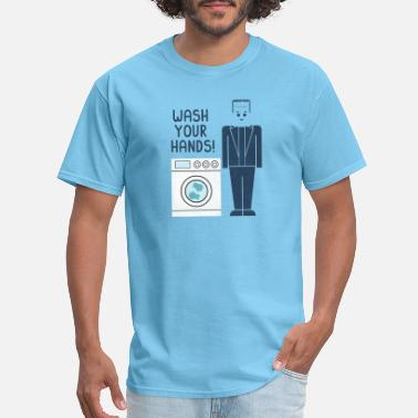Nato Wash Your Hands - Men's T-Shirt
