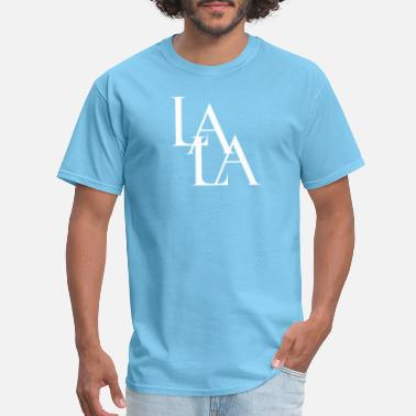 Lala Lala White - Men's T-Shirt