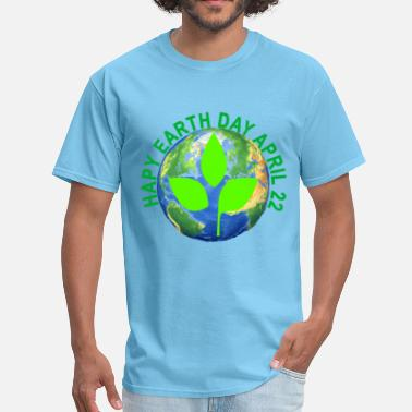 Mother Nature happy_earth_day_tshirt_ - Men's T-Shirt