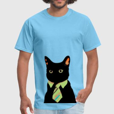 Business cat - Men's T-Shirt